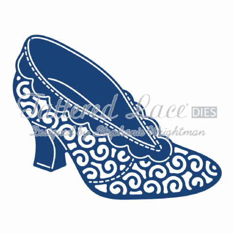 Tattered Lace Die Lu Lu Shoe - D789
